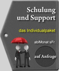 Schulung und Support